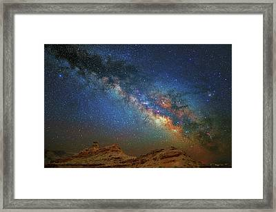 The Mexican Way Framed Print