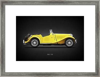 The Mg Td Framed Print by Mark Rogan
