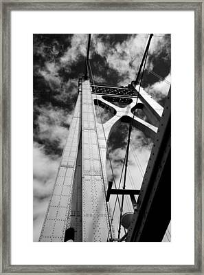 The Mid-hudson Bridge Framed Print