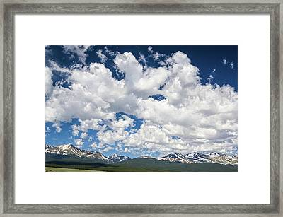 The Mid Point Between Ante Meridiem And Post Meridiem, Between A.m. And P.m.  Framed Print