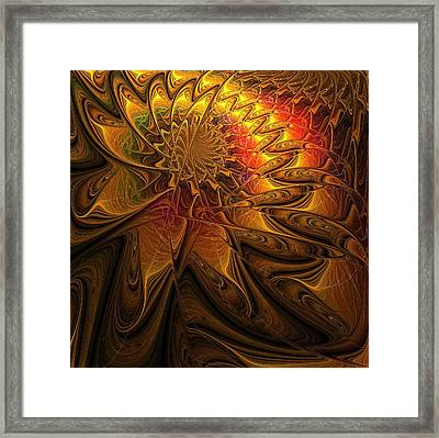 The Midas Touch Framed Print by Amanda Moore