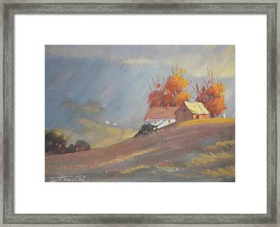 The Middle Farm 2 Framed Print