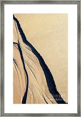 The Middle Way Framed Print by Tim Gainey