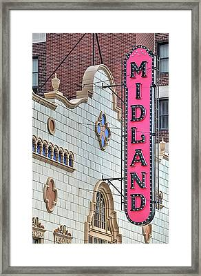 The Midland Theater  Framed Print by JC Findley