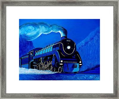 The Midnight Express Framed Print