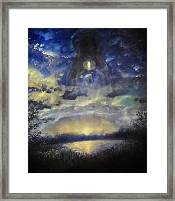 The Midnight Sun Framed Print by Aleksei Gorbenko