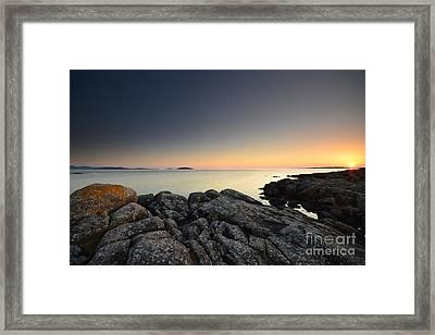 The Midnight Sun Framed Print by Nichola Denny