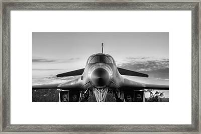 The Mighty B-1b Framed Print by JC Findley