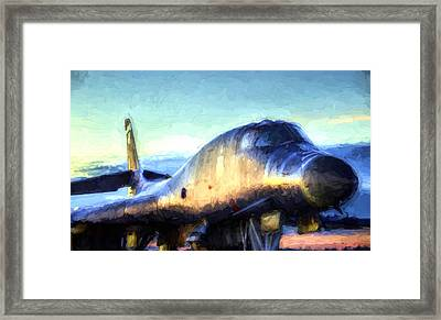 The Mighty Bone Framed Print by JC Findley