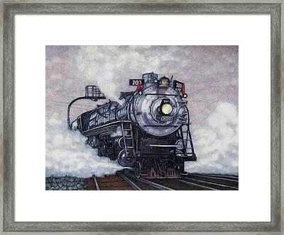 The Mighty Brooklyn 700 Framed Print by Edward Ruth