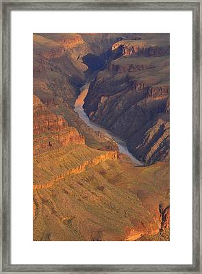Framed Print featuring the photograph The Mighty Colorado by Stephen  Vecchiotti