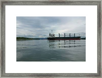 The Mighty Columbia Framed Print