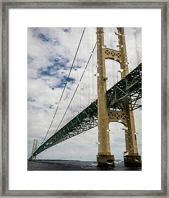 The Mighty Mac Framed Print