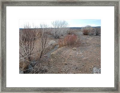 Framed Print featuring the photograph The Mighty Santa Fe River by Rob Hans