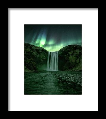 Waterfalls Framed Prints