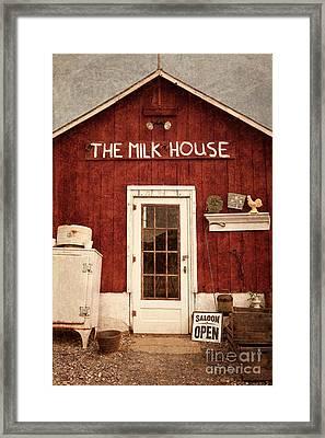 The Milk House Framed Print by John Stephens