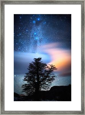 The Milky Way Framed Print by Ricardo La Piettra