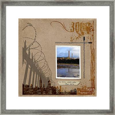 The Mill Framed Print by Gillian Singleton