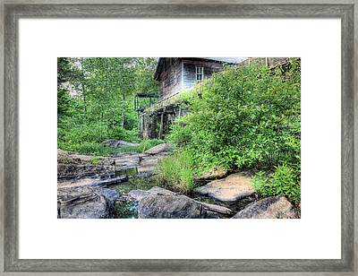 The Mill Framed Print by JC Findley