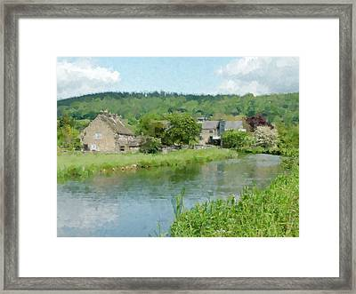 The Mill Framed Print by Kevin Round