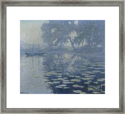The Mill Pond Framed Print