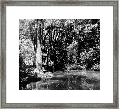 The Mill Wheel Framed Print