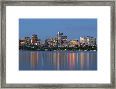 The Millennium Tower Framed Print by Juergen Roth
