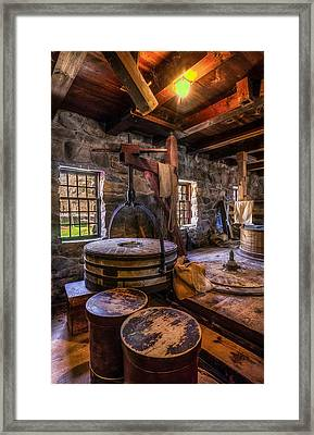 The Milling Room Framed Print by Mark Papke