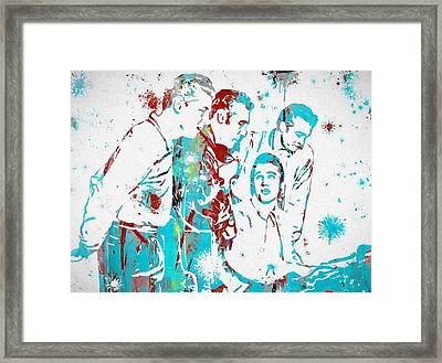 The Million Dollar Quartet Framed Print by Dan Sproul
