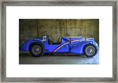 The Million Franc Car Framed Print by Josh Williams