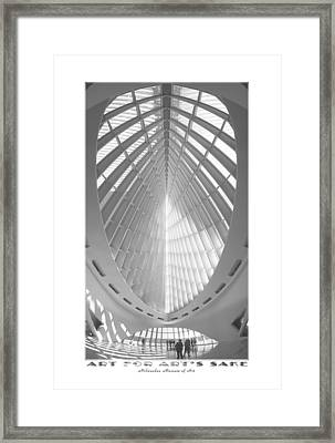 The Milwaukee Art Museum Framed Print by Mike McGlothlen