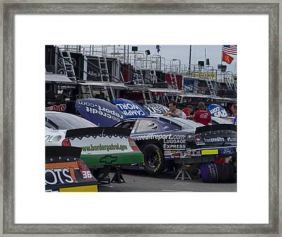 The Milwaukee Mile Framed Print