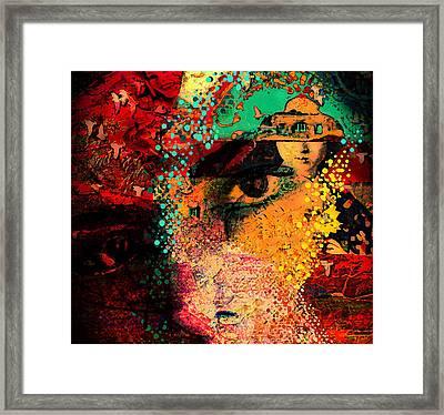 The Mind's Eye Framed Print by Jeff Burgess