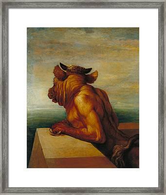 The Minotaur Framed Print