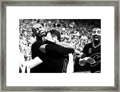 The Miracle At The Oracle 2 Framed Print