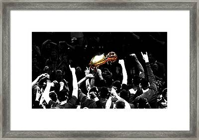 The Miracle At The Oracle Framed Print