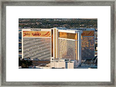 The Mirage Hotel Framed Print
