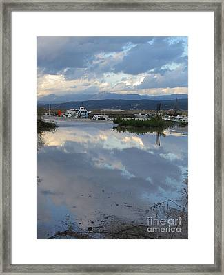 The Mirror Of Pylos  Framed Print by Clay Cofer