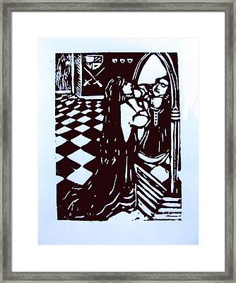 The Mirror Room I Framed Print by Adam Kissel