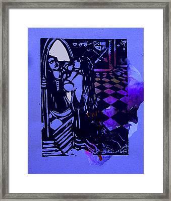 The Mirror Room II Framed Print by Adam Kissel