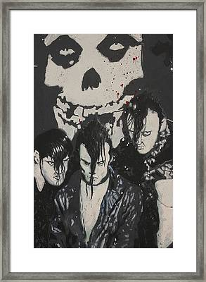The Misfits Framed Print by Dustin Spagnola