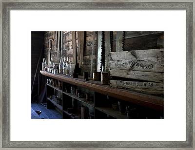 The Mishawaka Woolen Bar Framed Print