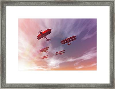 The Missing Man II Framed Print by Carol and Mike Werner