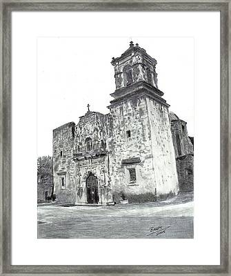 The Mission Framed Print by Barry Jones