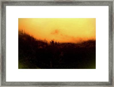 The Mist 03 Framed Print by Jay Namdev