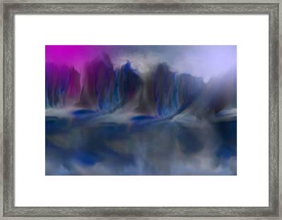 The Mist 2 Framed Print