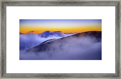 The Mists Of Cloudfall Framed Print