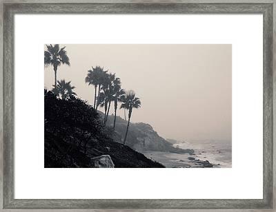 The Mists Of Laguna Beach Framed Print