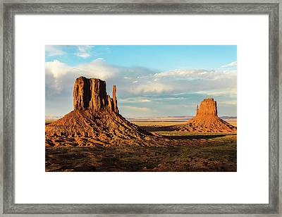 The Mittens Framed Print by James Marvin Phelps