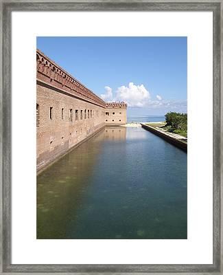 The Moat Framed Print